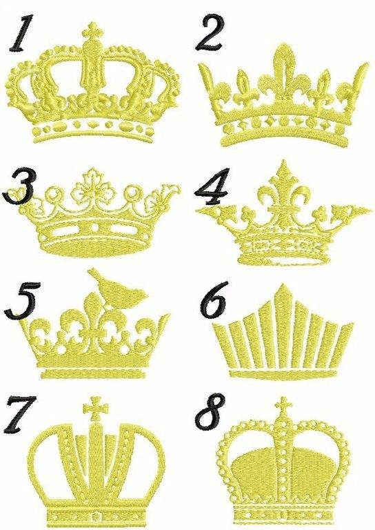 Фото корон для вышивки